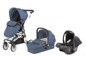 Baby Elegance Beep Twist Travel System Denim