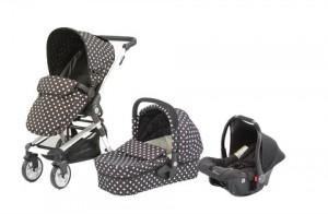 Baby Elegance Beep Twist Travel System Polka