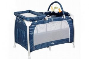 Babylo Siesta Travel Cot Navy