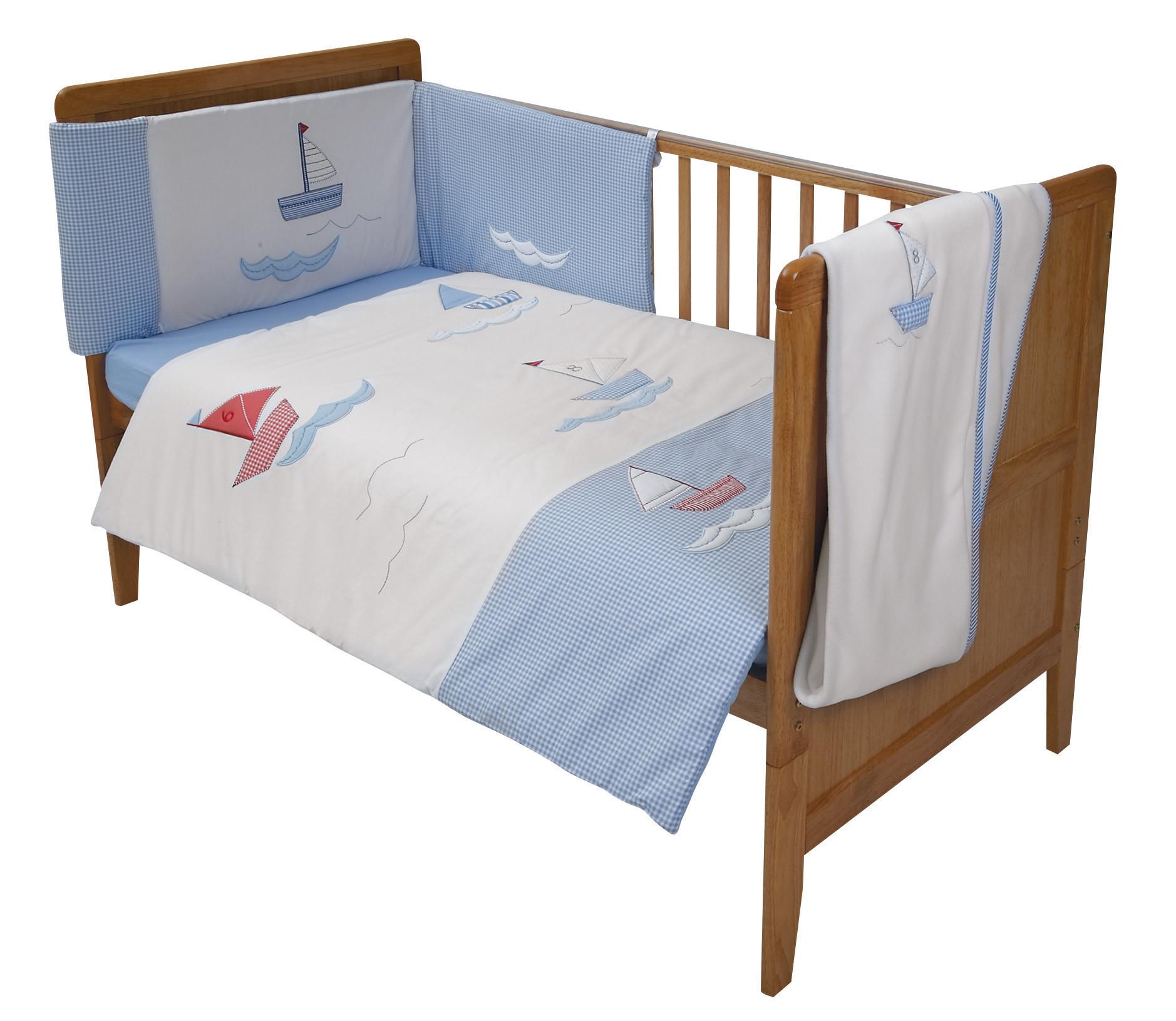 Come Sail Away Crib Bedding Set