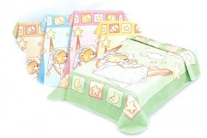 Boxed Baby Perla Cot Blankets