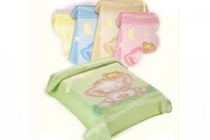 Boxed Baby Perla Pram Blankets