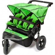 Out n About Nipper Double Buggy Mojito Green