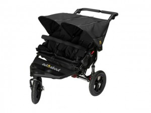 Out n About Nipper Double Buggy Raven Black