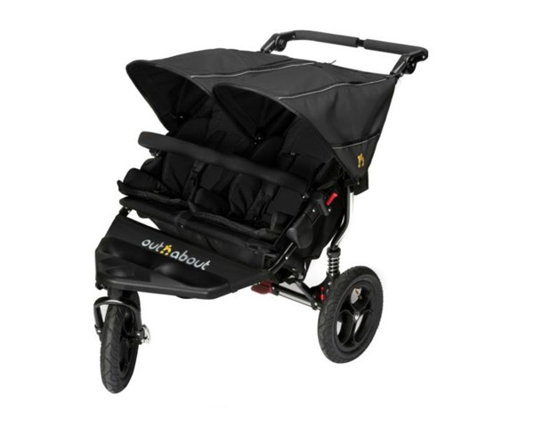 out n about nipper double buggy bambinos wexford. Black Bedroom Furniture Sets. Home Design Ideas