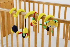 Baby Elegance Spiral Cot Toy
