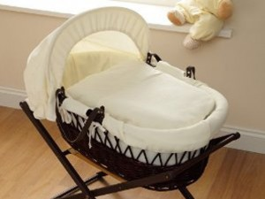Baroo Moses Basket - Cream