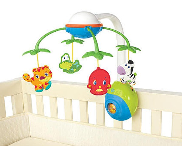 Bright Stars Soothing Safari 2 in 1 Mobile