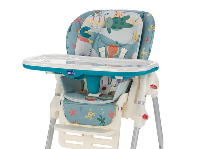 Chicco Polly 2 in 1 High Chair Sea Dreams 2