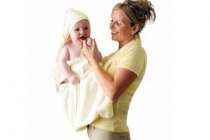Clevamama Apron Bath Towel 3