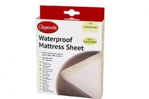 Clippasafe Waterproof Mattress Sheet Cot Bed Size