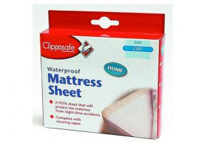 Clippasafe Waterproof Mattress Sheet Cot Size