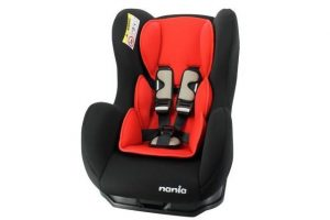 Nania Cosmo Car Seat - Black and Red
