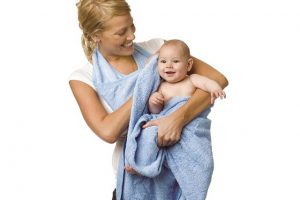 Simply Good Butterfly Baby Towel 1