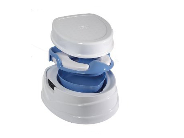 Tippitoes Soft Seat Trainer Potty Amp Step Stool Blue