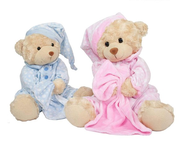 Baby Bow Bedtime Bear