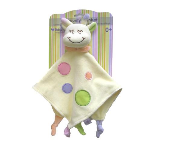 Baby Bow Giraffe Comforter