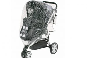 Baby Elegance 3 Wheel Buggy Rain Cover