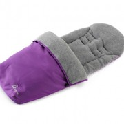 Baby Elegance Footmuff Purple