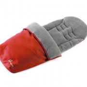 Baby Elegance Footmuff Red