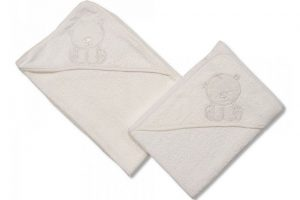 Baby Hooded Towel White