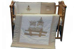 Bumper & Quilt Set - Cows