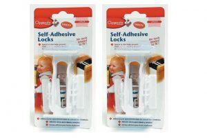Clippasafe Self Adhesive Locks 1