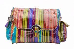 Kalencom Laminated Buckle Bag Spize Stripes