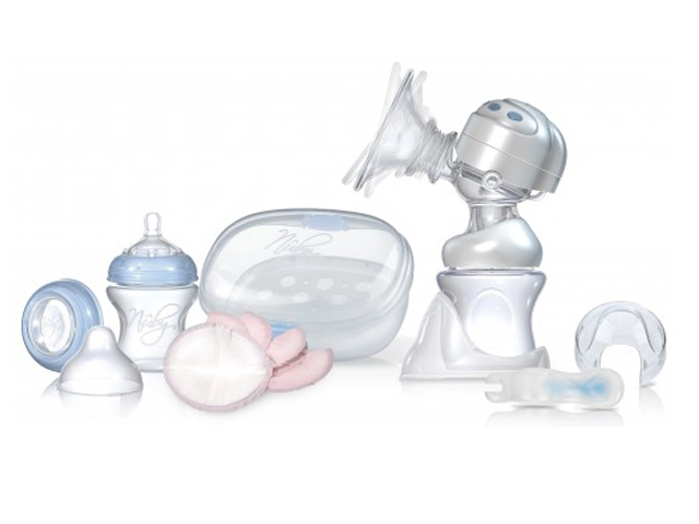 Nuby Rythm Dual Action Electric Breast Pump & Steriliser Kit