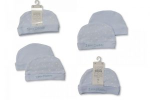 Premature Baby Hats Blue
