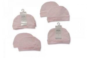 Premature Baby Hats Pink