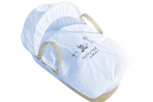 Tatty Ted Moses Basket Blue