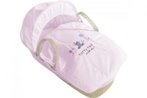 Tatty Ted Moses Basket Pink