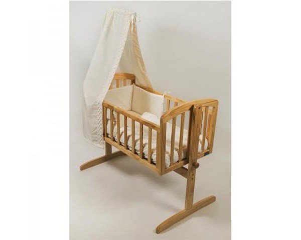 BR Nursery Little Angels Swinging Crib