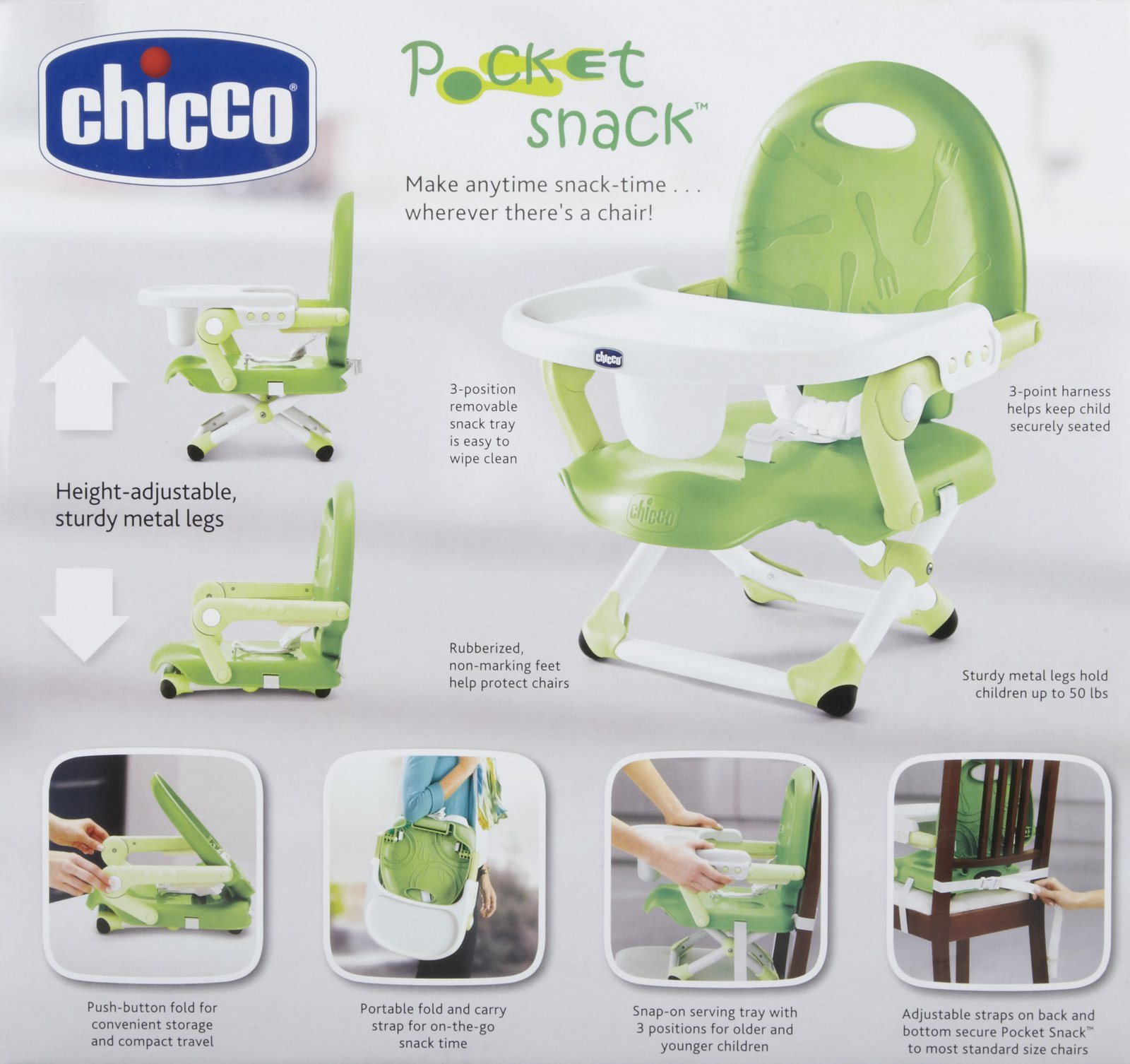 Chicco Pocket Snack Highchair Bambinos Wexford