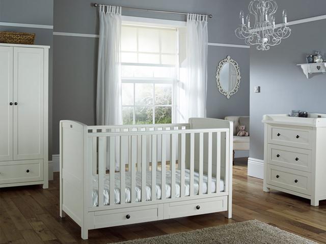 silver nursery furniture. Silver Cross Nostalgia Nursery Furniture Set