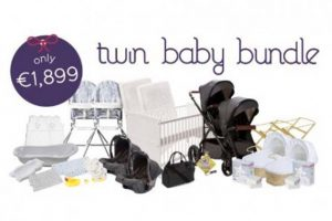Baby Elegance Twin Baby Bundle