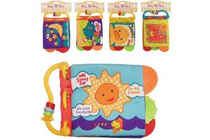 BabyBow crinkle book toy