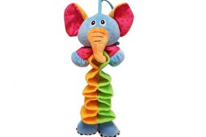 BabyBow musical elephant pull toy