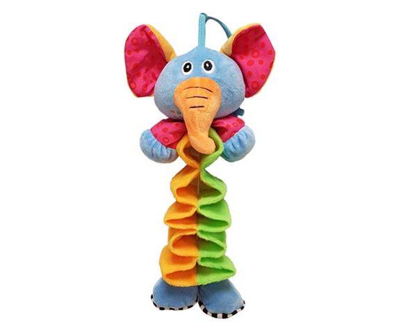 BabyBow musical elephant pull toy