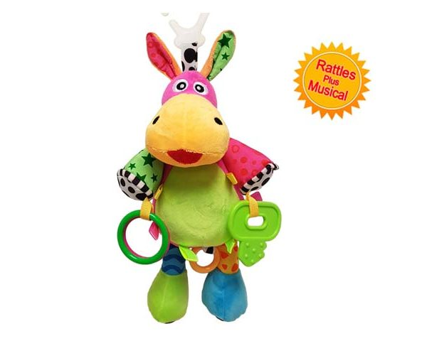 BabyBow musical pull toy