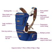 Clevamama Ergonomic baby & hip carrier - 2