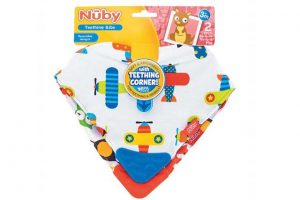 Nuby bibs with teether