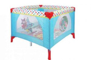 Babylo In The Night Garden Travel Cot 1