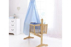 Isabella Alicia Crib Set Blue