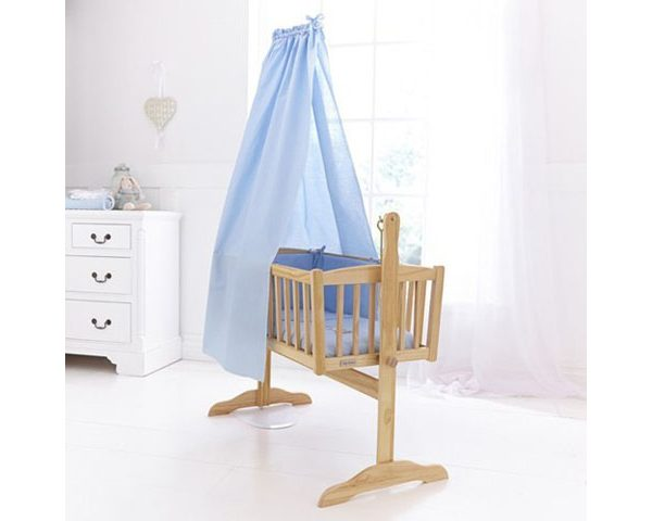 Isabella Alicia Crib Set Blue
