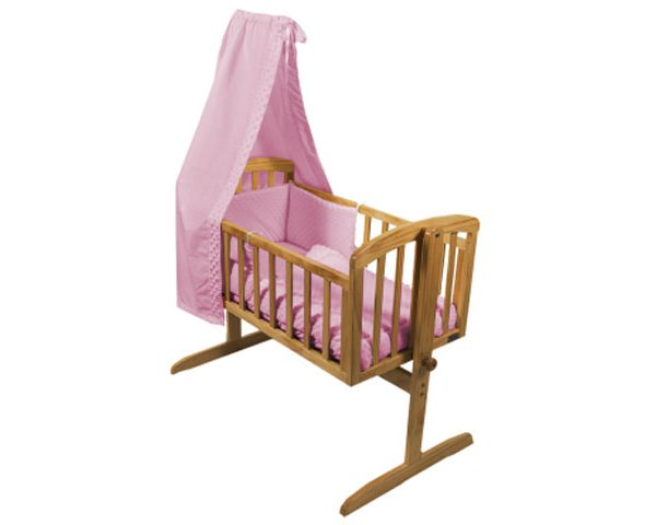 Isabella Alicia Crib Set Pink