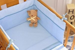 Izziwotnot Crib Set Blue