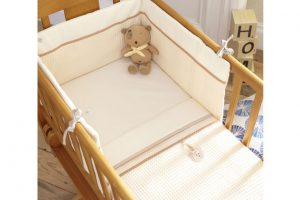 Izziwotnot Crib Set Cream