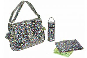 Kalencom Coated Buckle Bag - Bubbles Pastel